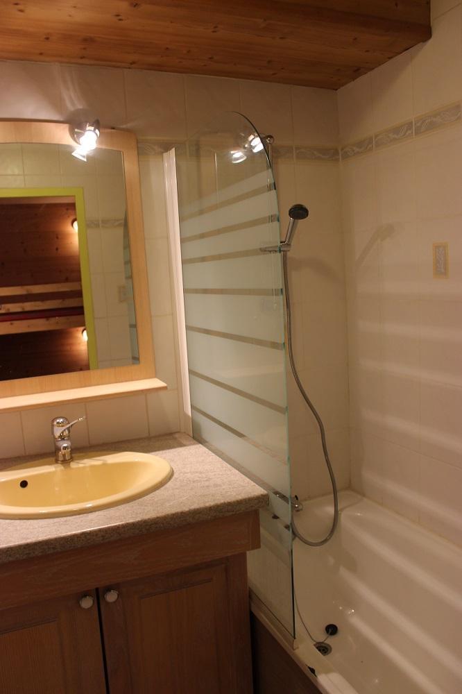 Location au ski Studio 4 personnes (154) - Résidence Névés - Val Thorens - Salle de bains