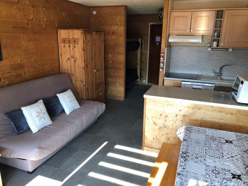 Location au ski Studio 4 personnes (154) - Résidence Névés - Val Thorens - Séjour