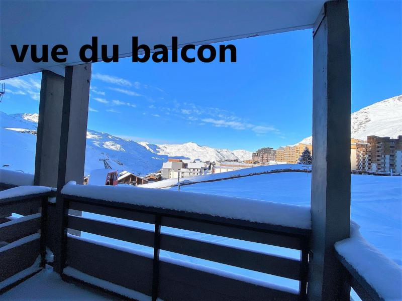 Holiday in mountain resort 2 room apartment 4 people (21) - Résidence Orsière - Val Thorens - Winter outside