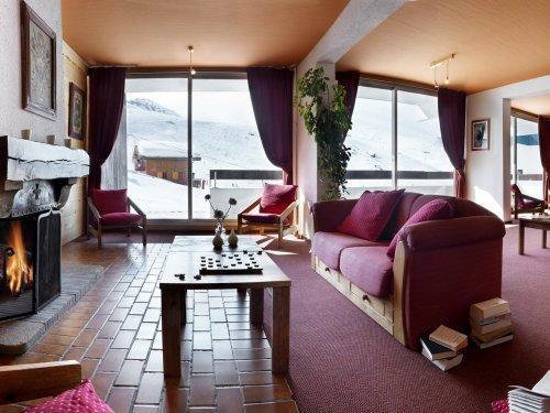 Alquiler al esquí Résidence Pierre & Vacances le Gypaète - Val Thorens - Recepción