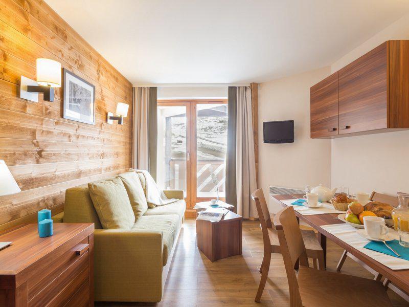 Skiverleih 2-Zimmer-Appartment für 6 Personen - Résidence Pierre & Vacances le Machu Pichu - Val Thorens