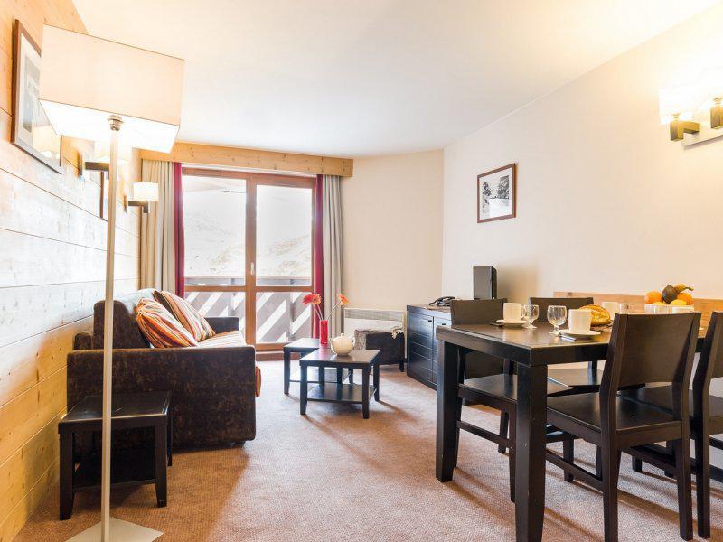 Skiverleih 2-Zimmer-Appartment für 4 Personen - Résidence Pierre & Vacances le Tikal - Val Thorens