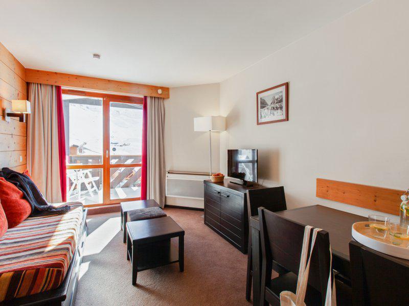 Skiverleih 2-Zimmer-Appartment für 6 Personen - Résidence Pierre & Vacances le Tikal - Val Thorens