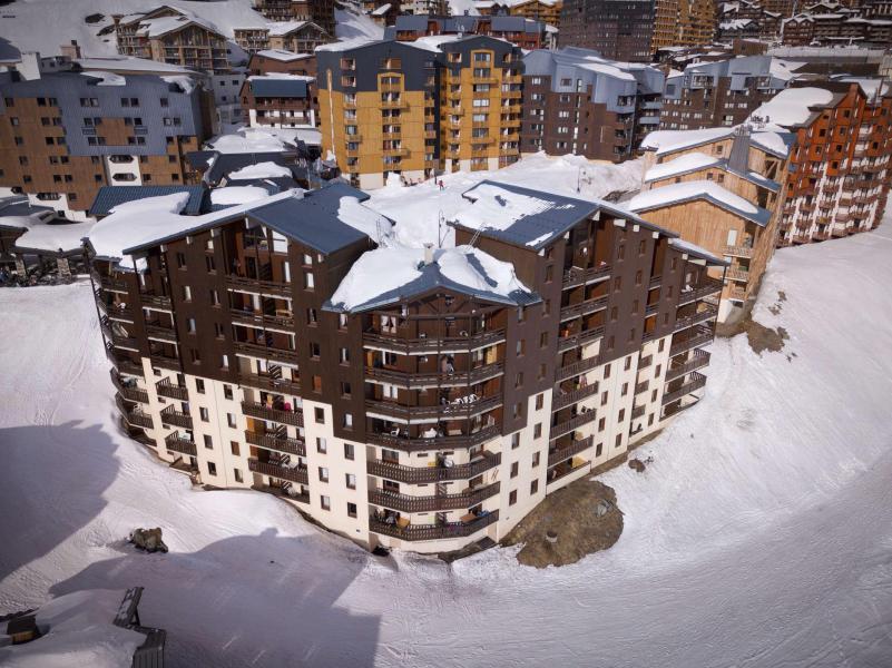 Location au ski Résidence Reine Blanche - Val Thorens - Extérieur hiver