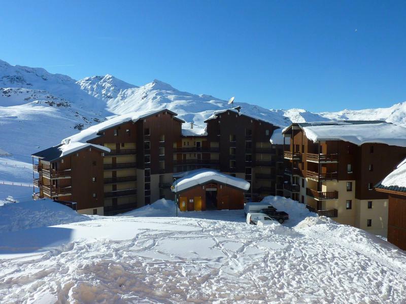 Vacances en montagne Résidence Reine Blanche - Val Thorens - Extérieur hiver