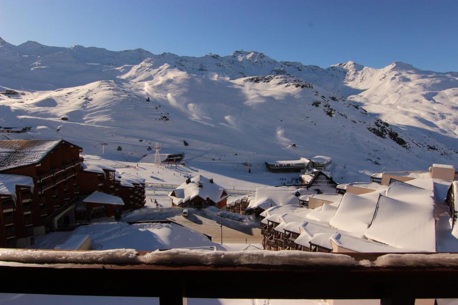 Vacances en montagne Appartement 2 pièces cabine 4 personnes (112) - Résidence Reine Blanche - Val Thorens - Extérieur hiver