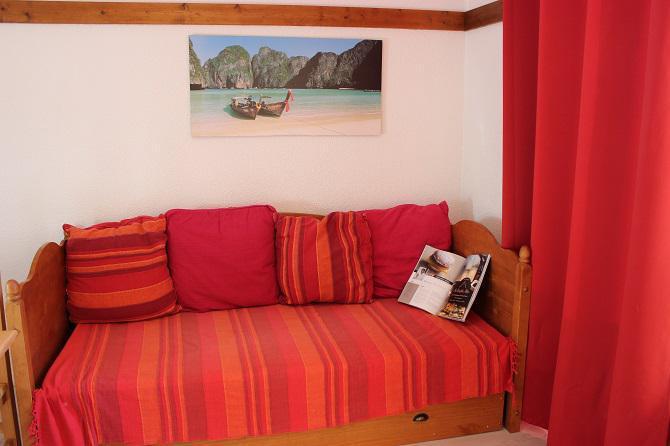 Location au ski Studio cabine 4 personnes (11) - Résidence Reine Blanche - Val Thorens