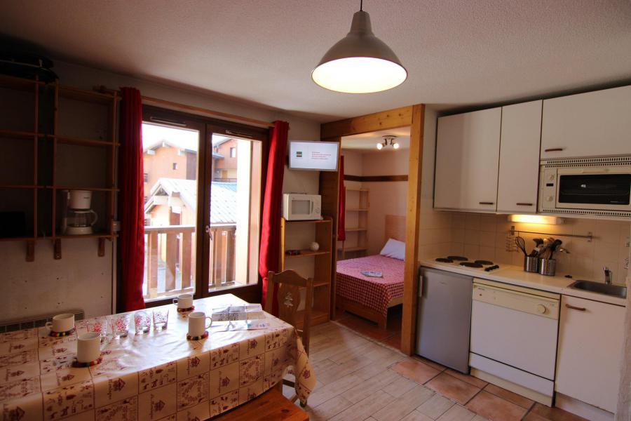 Location au ski Appartement 2 pièces 4 personnes (65) - Résidence Reine Blanche - Val Thorens - Kitchenette