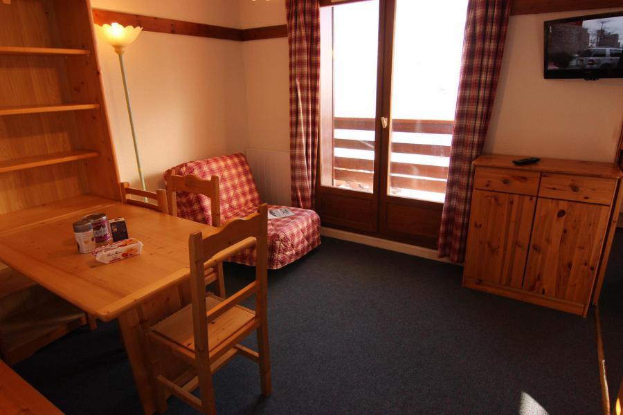 Location au ski Appartement 2 pièces cabine 4 personnes (112) - Résidence Reine Blanche - Val Thorens - Séjour