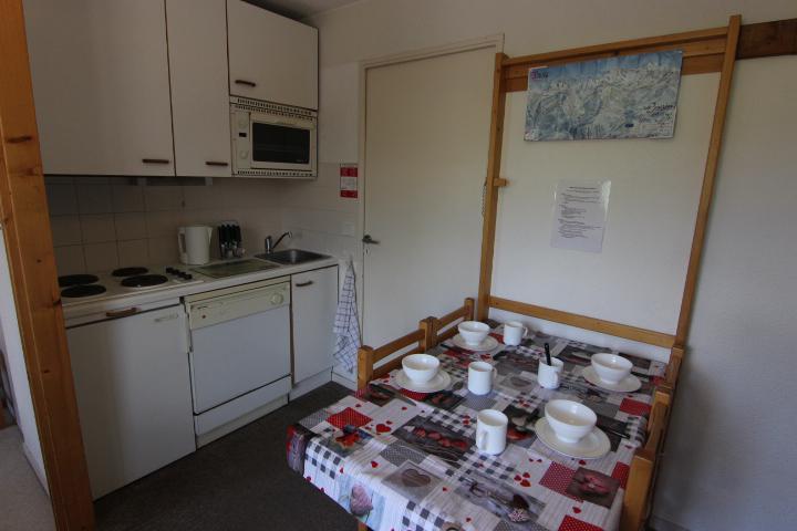 Location au ski Appartement 2 pièces cabine 4 personnes (9) - Résidence Reine Blanche - Val Thorens - Coin repas
