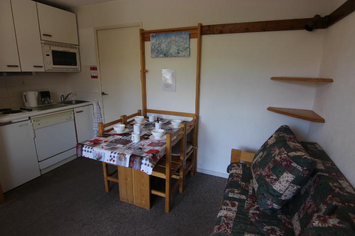 Location au ski Appartement 2 pièces cabine 4 personnes (9) - Résidence Reine Blanche - Val Thorens - Kitchenette