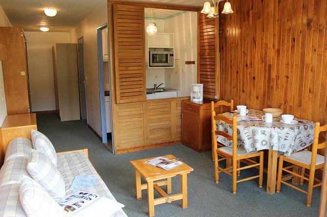 Location au ski Studio 2 personnes (C2) - Résidence Roc de Péclet - Val Thorens