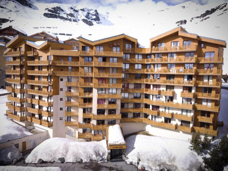 Location au ski Résidence Roche Blanche - Val Thorens - Extérieur hiver