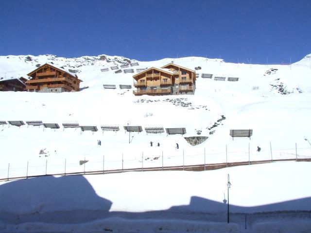 Location au ski Studio 2 personnes (124) - Résidence Roche Blanche - Val Thorens - Table