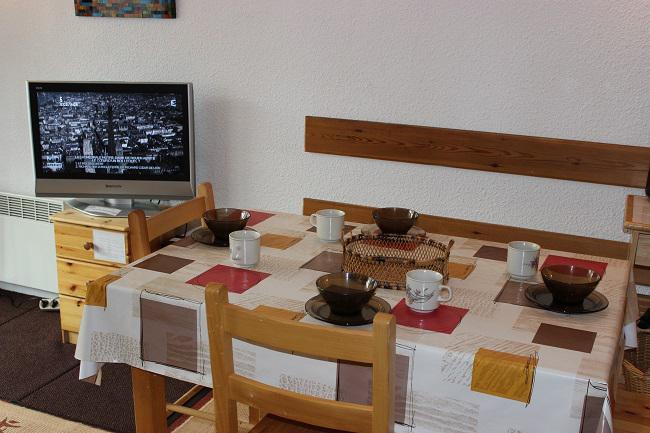 Location au ski Studio 4 personnes (84) - Résidence Roche Blanche - Val Thorens - Lavabo