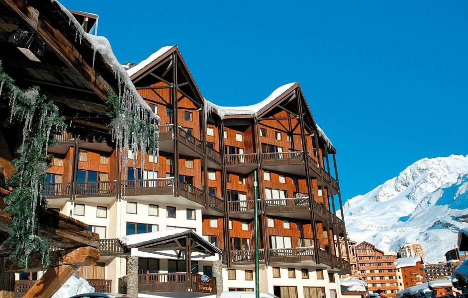 Location au ski Résidence Silveralp - Val Thorens - Extérieur hiver