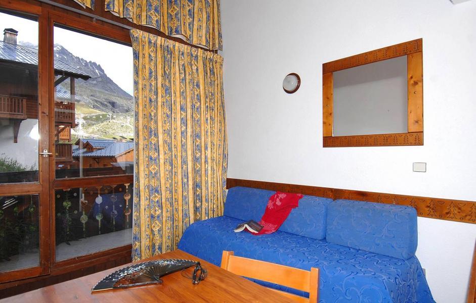 Location au ski Résidence Silveralp - Val Thorens - Canapé