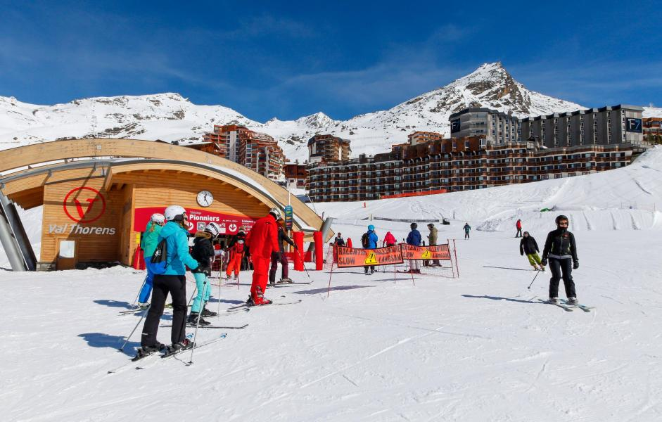 Vacanze in montagna Résidence Tourotel - Val Thorens - Esteriore inverno