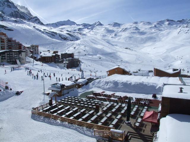 Location au ski Studio cabine 4 personnes (456) - Résidence Vanoise - Val Thorens