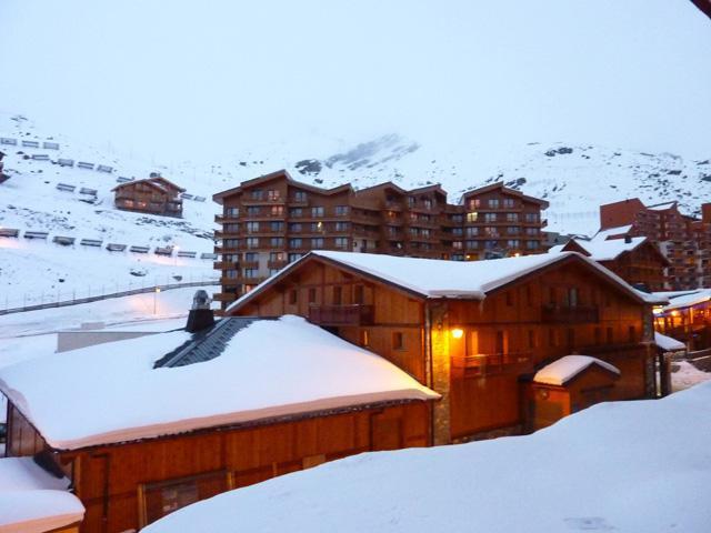Location au ski Studio 2 personnes (164) - Résidence Vanoise - Val Thorens - Tv