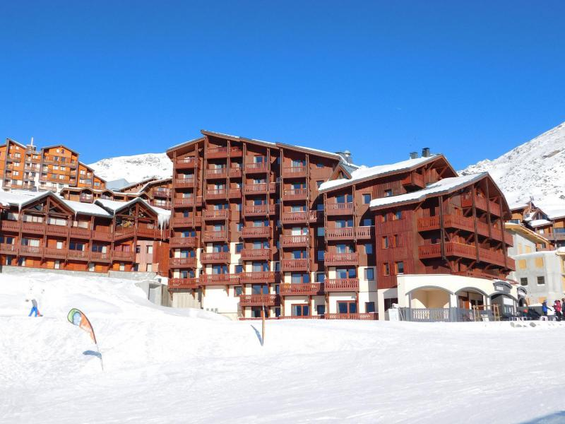 Аренда на лыжном курорте Résidence Village Montana - Val Thorens - зимой под открытым небом