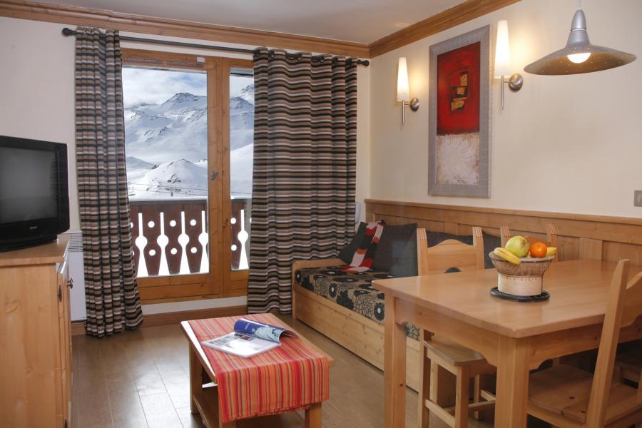 Location au ski Résidence Village Montana - Val Thorens - Coin repas