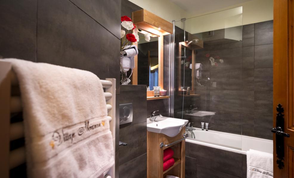 Alquiler al esquí Résidence Village Montana - Val Thorens - Cuarto de baño