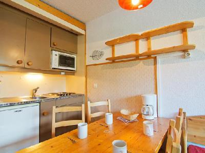 Rent in ski resort 2 room apartment cabin 4 people (16) - Arcelle - Val Thorens - Dining area