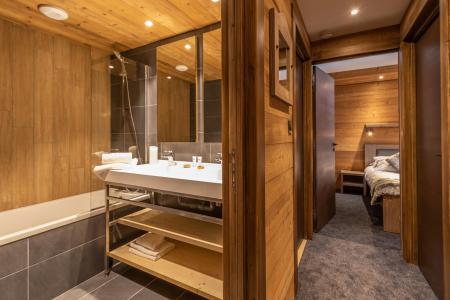 Location au ski Appartement 3 pièces 4 personnes - Chalet Altitude - Val Thorens - Salle de bains