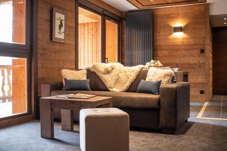 Location au ski Appartement 3 pièces 4 personnes - Chalet Altitude - Val Thorens - Table basse
