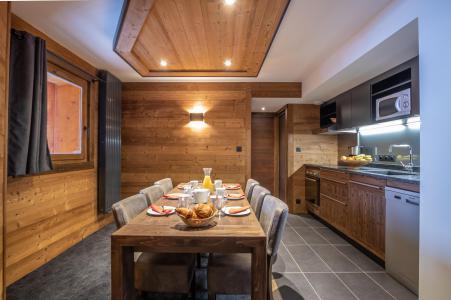 Location au ski Appartement 4 pièces 6 personnes - Chalet Altitude - Val Thorens - Cuisine