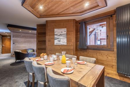 Location au ski Appartement 4 pièces 6 personnes - Chalet Altitude - Val Thorens - Salle à manger