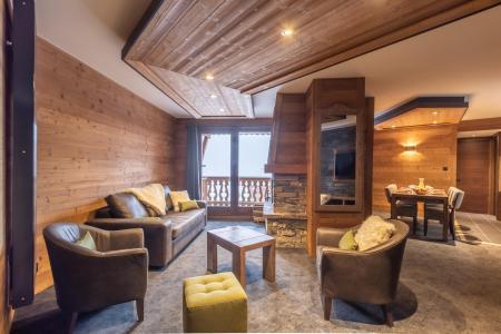 Location au ski Appartement 4 pièces 6 personnes - Chalet Altitude - Val Thorens - Séjour