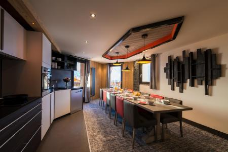Location au ski Appartement 7 pièces 12-14 personnes - Chalet Altitude - Val Thorens - Cuisine