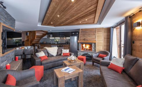 Location au ski Appartement duplex 6 pièces 10 personnes - Chalet Altitude - Val Thorens - Séjour