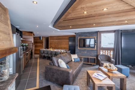 Location au ski Appartement duplex 7 pièces 12 personnes - Chalet Altitude - Val Thorens - Banquette