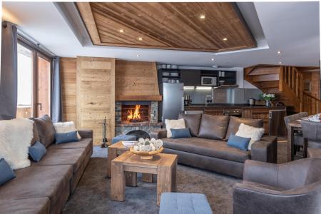 Location au ski Appartement duplex 7 pièces 12 personnes - Chalet Altitude - Val Thorens - Séjour