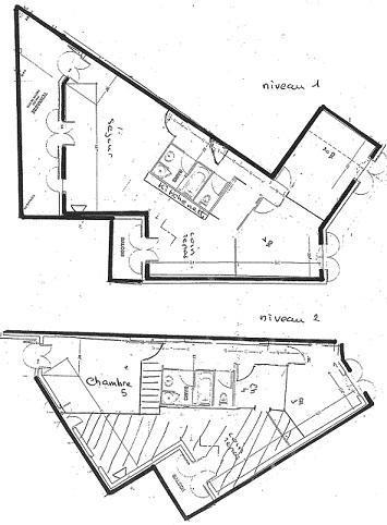 Location au ski Appartement 6 pièces 10 personnes (03) - Chalet Les Trolles - Val Thorens - Plan