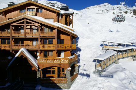 Location au ski Chalet Val 2400 - Val Thorens - Extérieur hiver