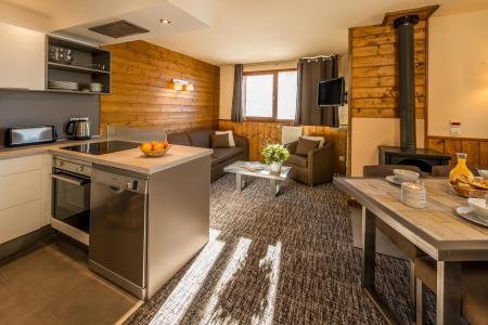 Location au ski Appartement 3 pièces 4-6 personnes - Chalet Val 2400 - Val Thorens - Séjour