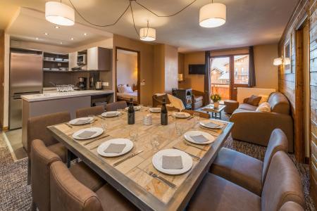 Location au ski Appartement 6 pièces 10 personnes - Chalet Val 2400 - Val Thorens - Séjour