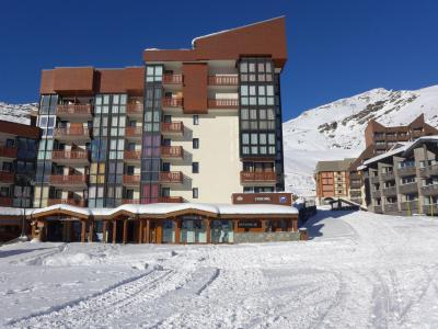 Rent in ski resort 2 room apartment 5 people (2) - Eskival - Val Thorens - Winter outside