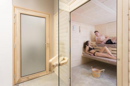 Location au ski Hotel Club Mmv Les Arolles - Val Thorens - Sauna