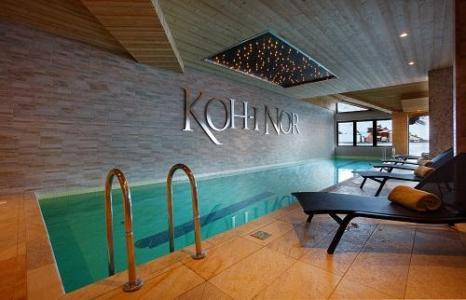 Location au ski Hotel Koh I Nor - Val Thorens - Piscine