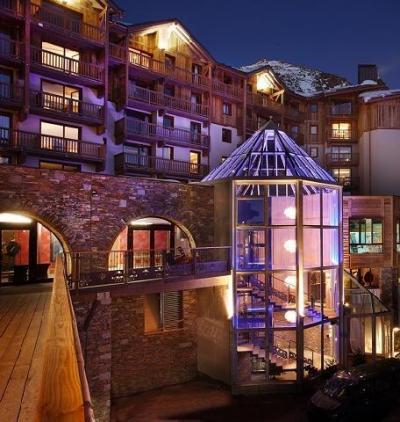 Location au ski Hotel Koh I Nor - Val Thorens - Extérieur hiver