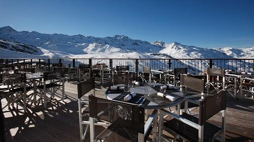 Location au ski Hotel Koh I Nor - Val Thorens - Terrasse