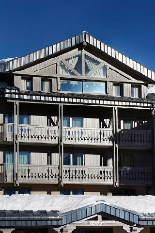 Location au ski Hotel Le Fitz Roy - Val Thorens - Extérieur hiver