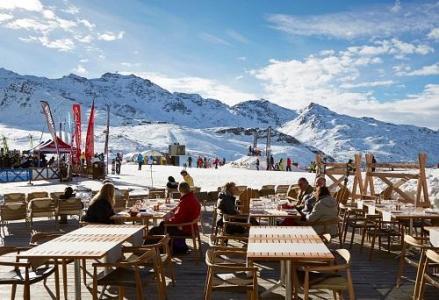 Location au ski Hotel Le Fitz Roy - Val Thorens - Terrasse