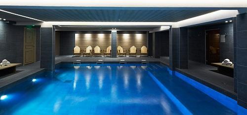 Location au ski Hotel Le Fitz Roy - Val Thorens - Piscine