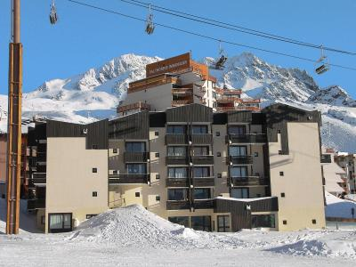 Rent in ski resort 2 room apartment 4 people (4) - L'Orsière - Val Thorens - Winter outside